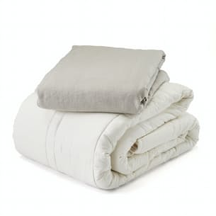 25 lb Weighted Comforter with Duvet - King