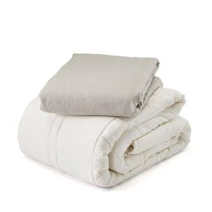 20 lb Weighted Comforter with Duvet - Full/Queen
