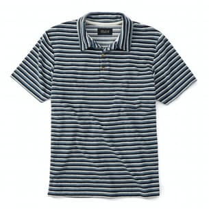 Loose End Striped Terry Polo