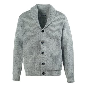 Wool Blend Heathered Cardigan