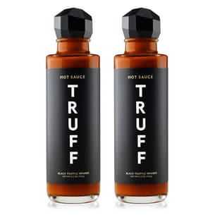 Set of 2 Black Truffle Infused Hot Sauce