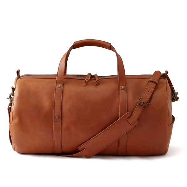 Standard Issue Leather Duffel