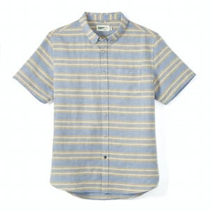Cotton-Linen Short Sleeve Shirt