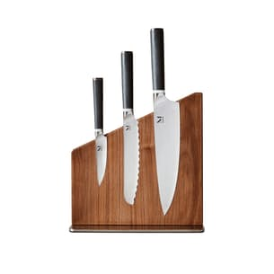 Trio of Knives + Stand Set