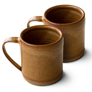 Bronzed Rock Mug - Set of 2