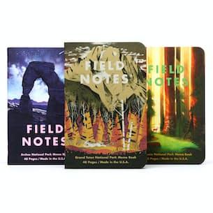 Grand Teton, Arches, Sequoia - 3 Pack