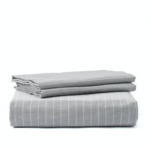 Organic Chambray Duvet Set - Queen