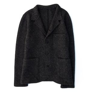 Blazer Cardigan - Boiled Wool
