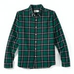 Natural Wash Check Shirts