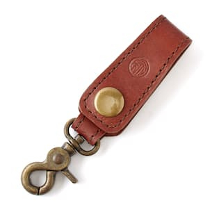 Leather Loop Key Chain