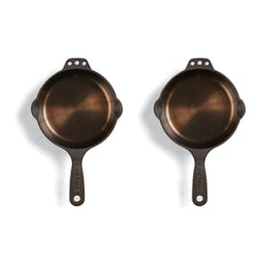 No. 6 Cast Iron Skillet - Set of 2
