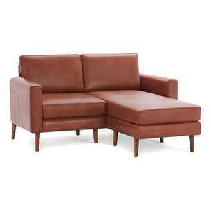 The Block Nomad Leather Sectional Loveseat