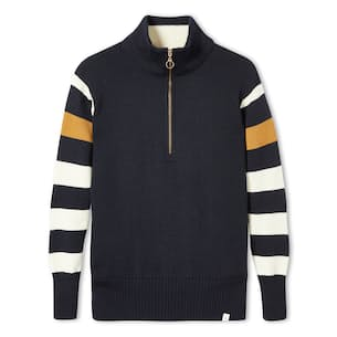 Rovers Zip Neck Sweater