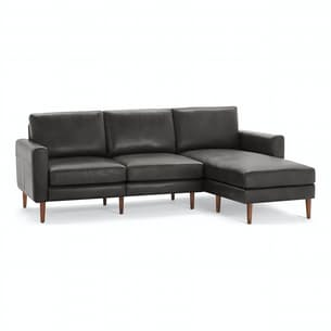 The Block Nomad Leather Sectional Sofa
