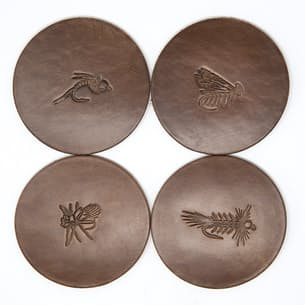 Fly Stamped Coasters