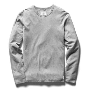 Pima Jersey Long Sleeve T-Shirt
