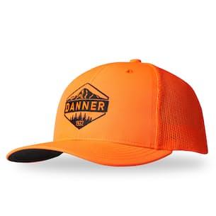 Blaze Orange Trucker