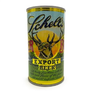 Schell's Vintage Beer Can Candle