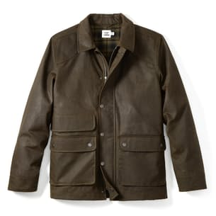 Flannel-lined Waxed Hudson Jacket
