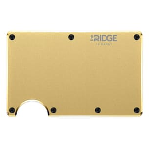 18k Gold Plated Wallet