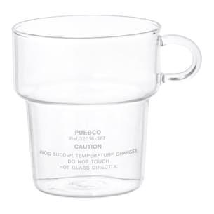 Deep Stacking Glass Mug