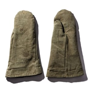 Vintage Tent Oven Mitts