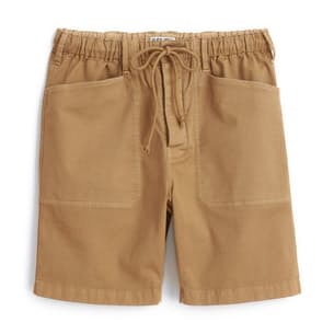 """Pull on Button Fly Short - 8"""""""