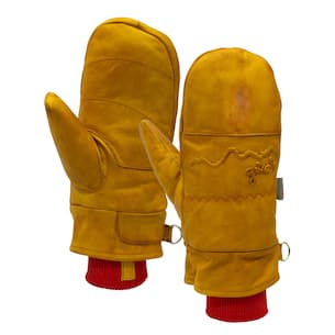 Frontier Waxed Mittens