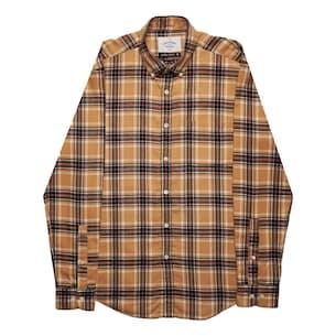 Camel Flannel Shirt