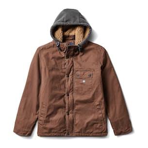 Bison Sherpa Hoodie Jacket