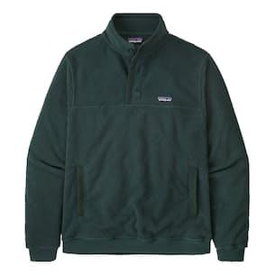 Shearling Button Pullover Fleece