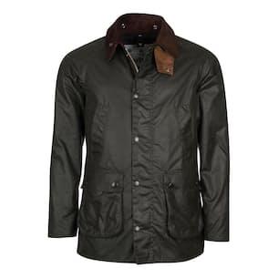 Slim Bedale Camo Wax Jacket
