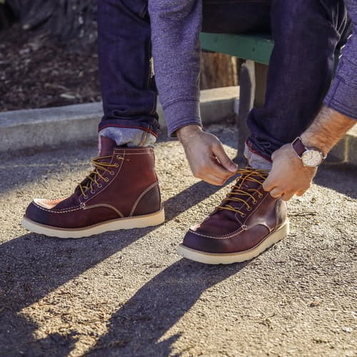 Eastland Natural Lumber Up Nubuck Boots In Wheat For Men Lyst