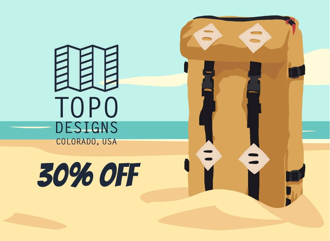 Summer sale hero topo