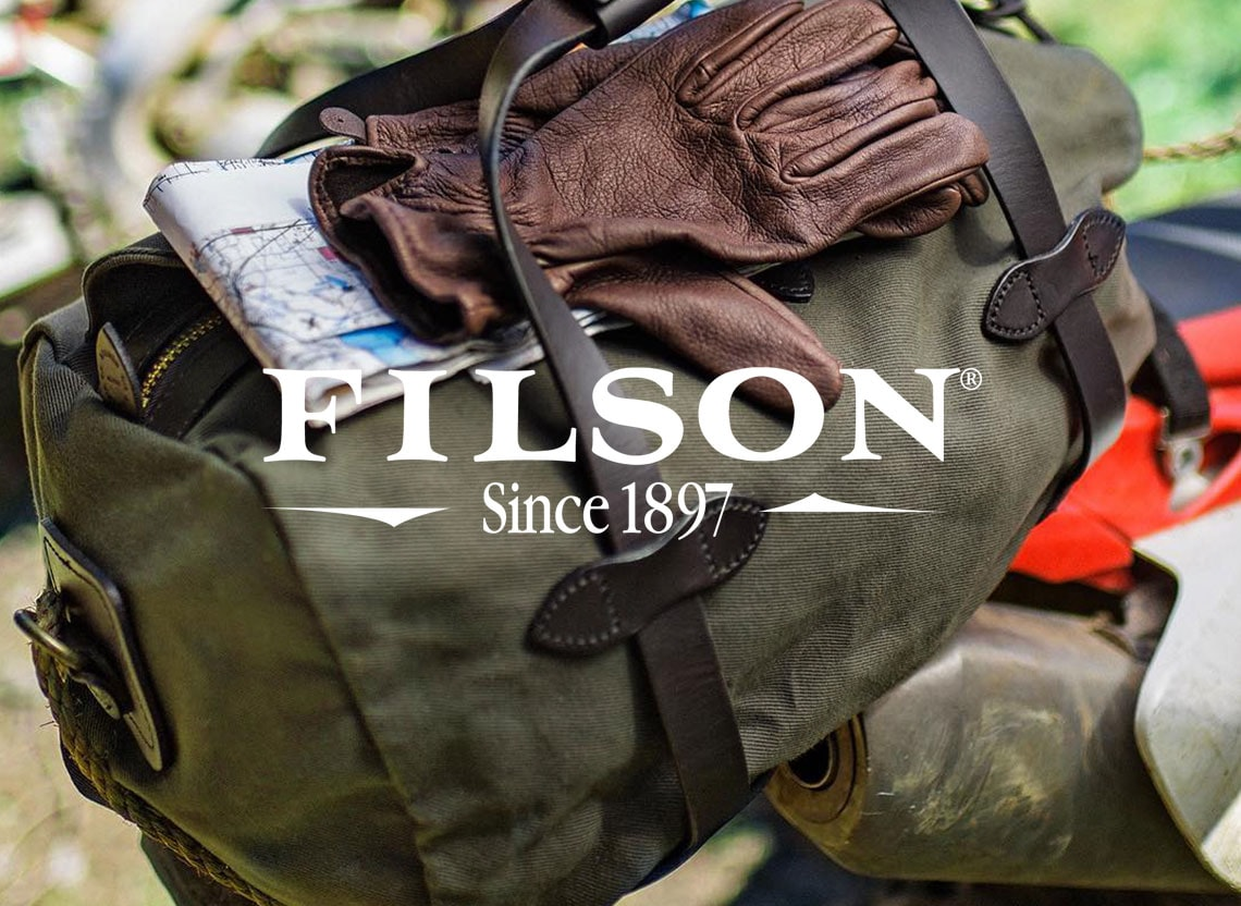 Filson evergreen hero