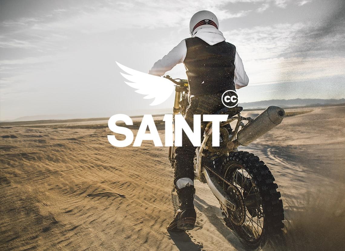 Saint denim hero