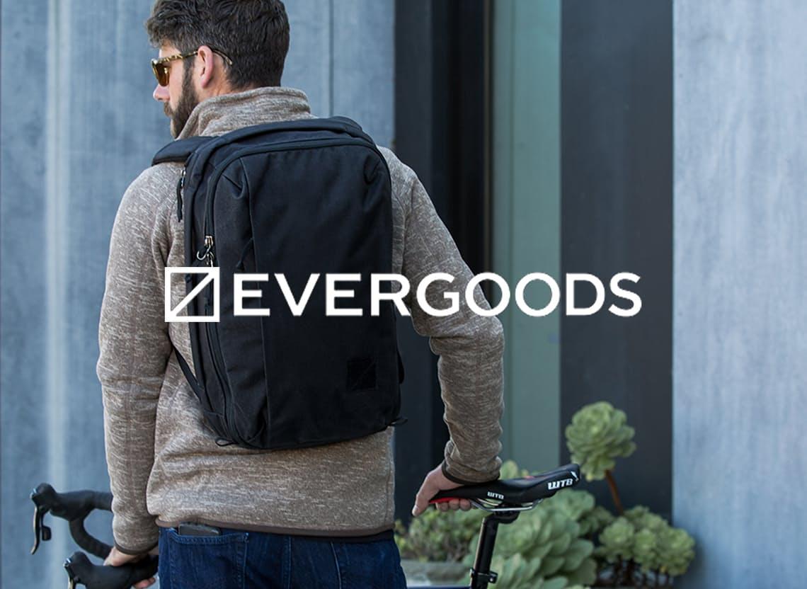 Evergoods homepage hero