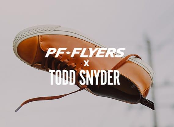 uk availability 56fbb 6d0a7 Shop Men s PF Flyers x Todd Snyder   Huckberry