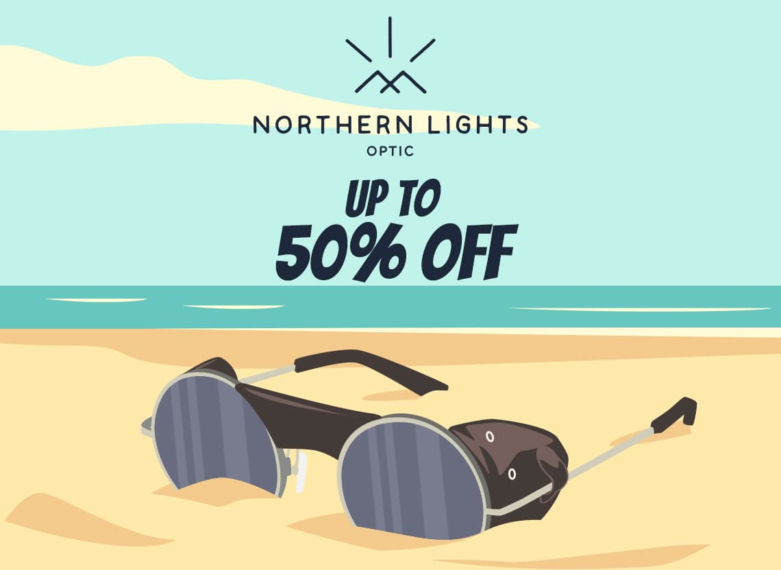 Summer sale hero northernlights