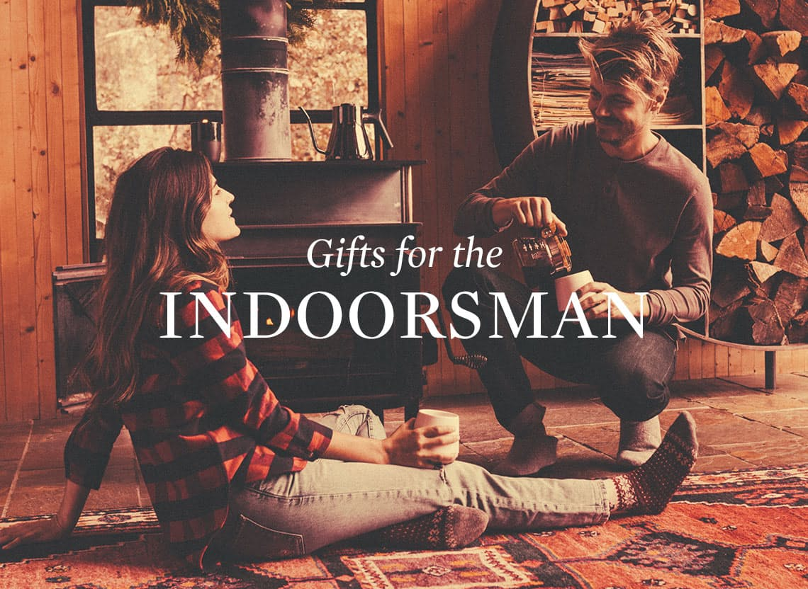 Indoorsman gift guide heroes red