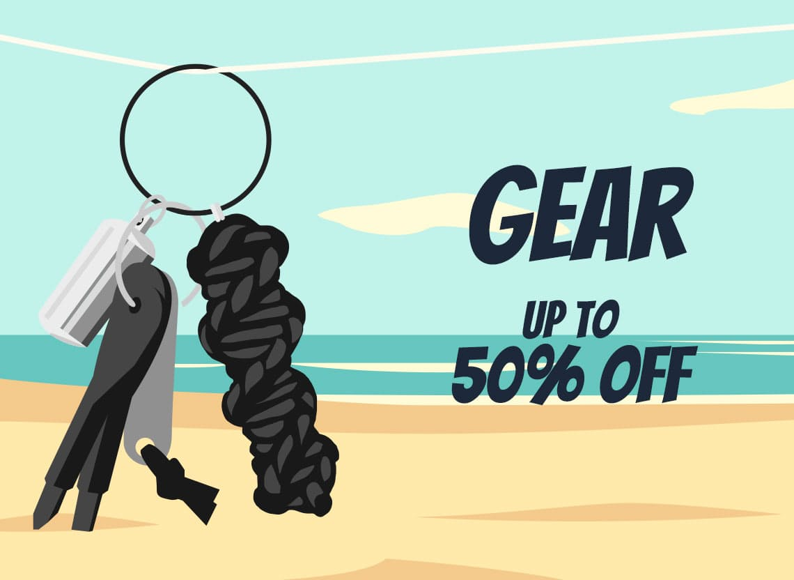 Summer sale hero gear