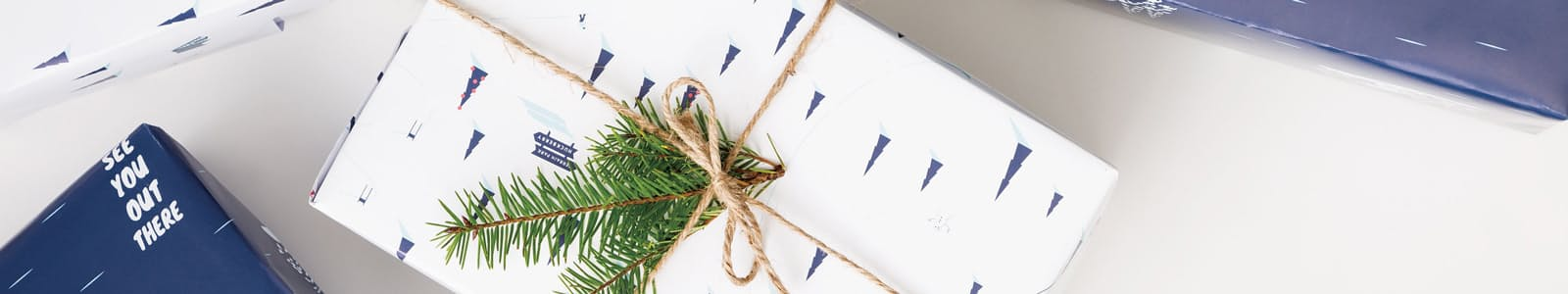 Wrappingpaper header