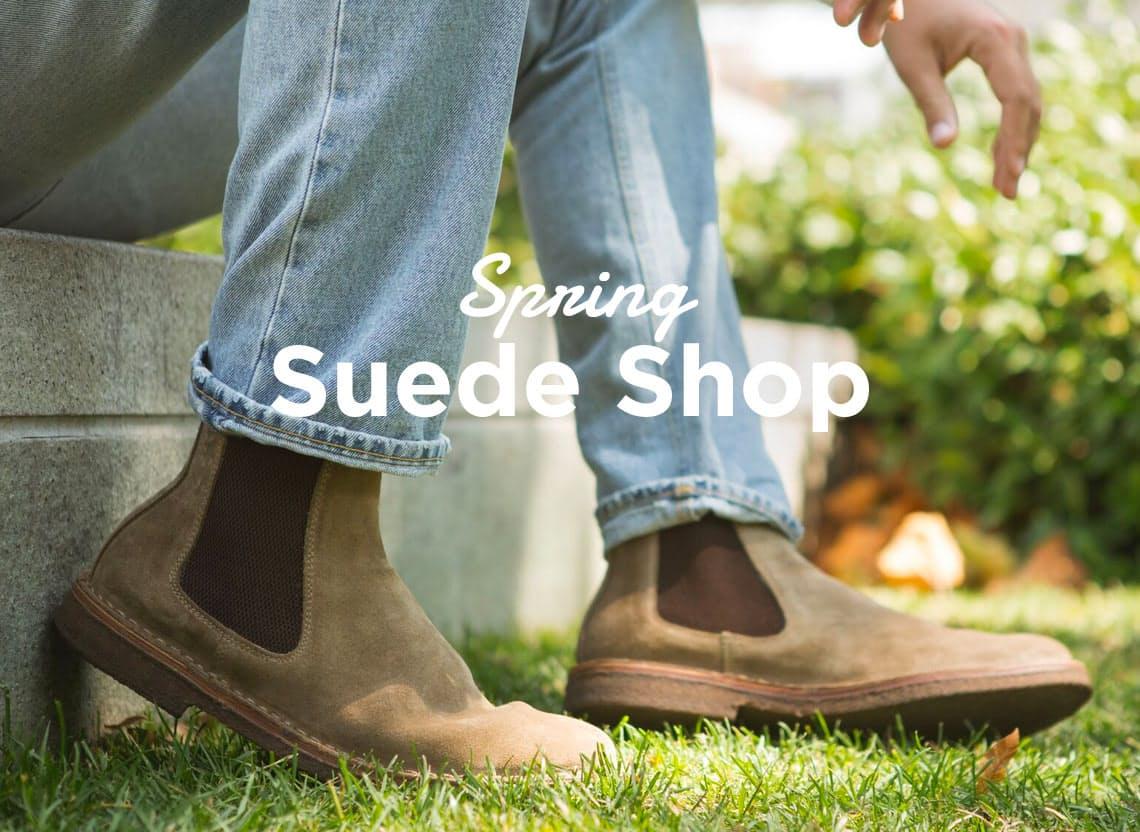 Spring suede herob