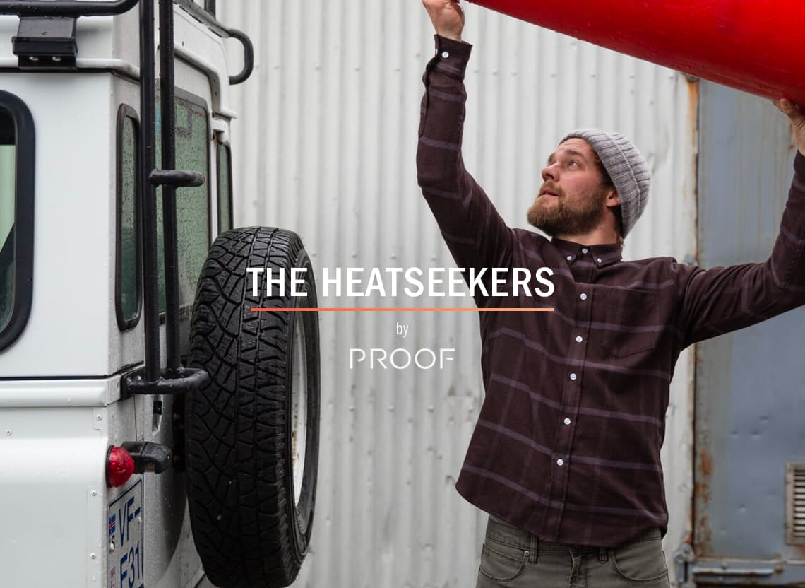 Heatseeker homepage hero