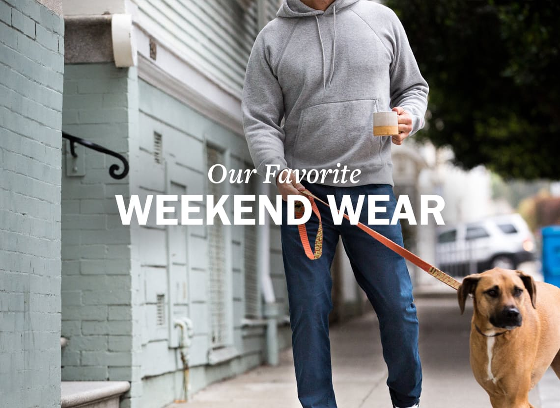 Weekendwear hero