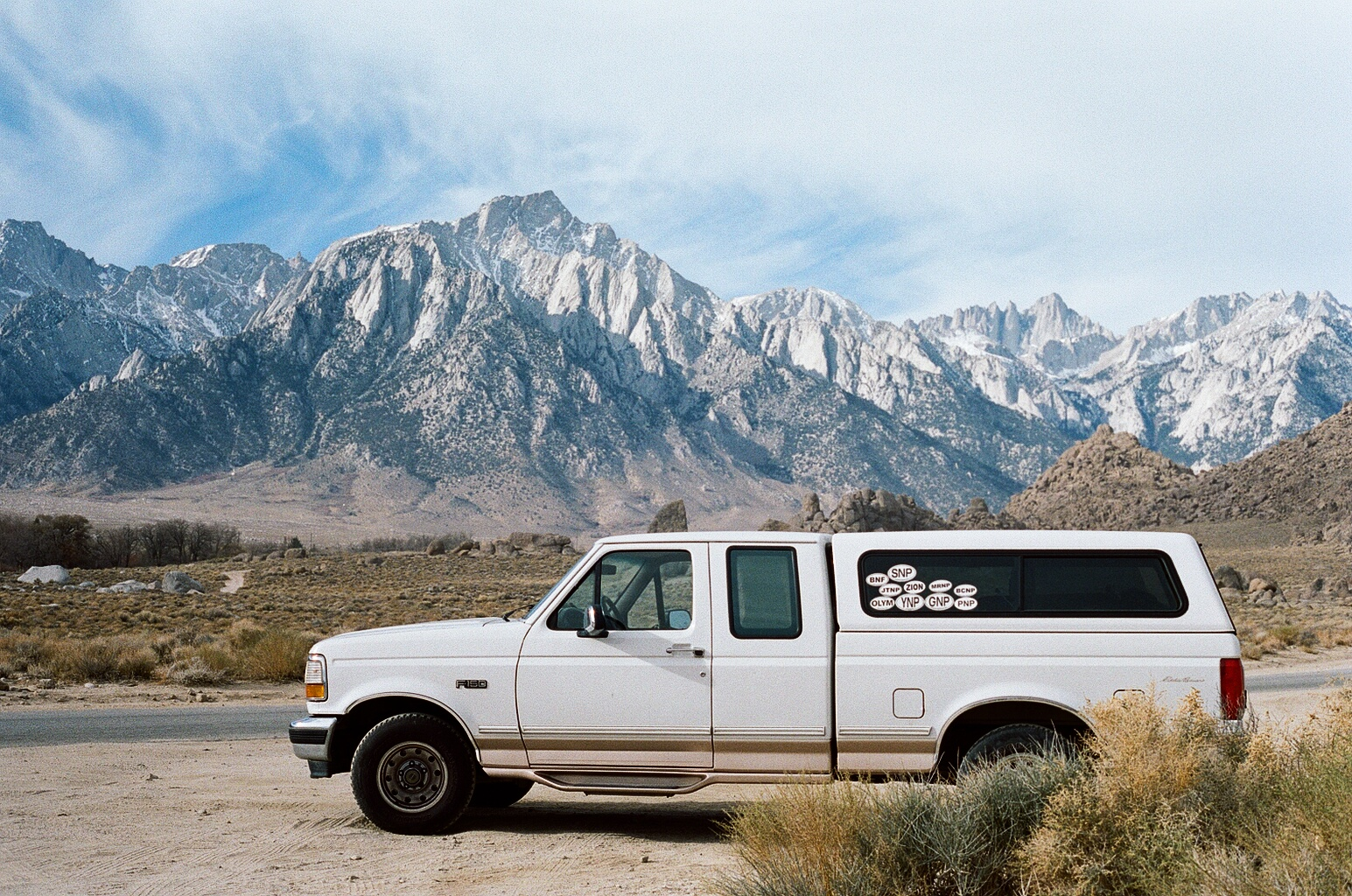 Logan Stoneman's Ford F150, 1997, EDDIE BAUER EDITION