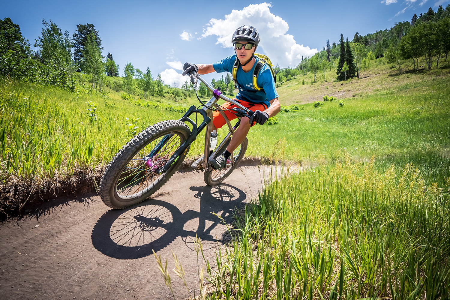 Aspen is great for mountain biking in the summer