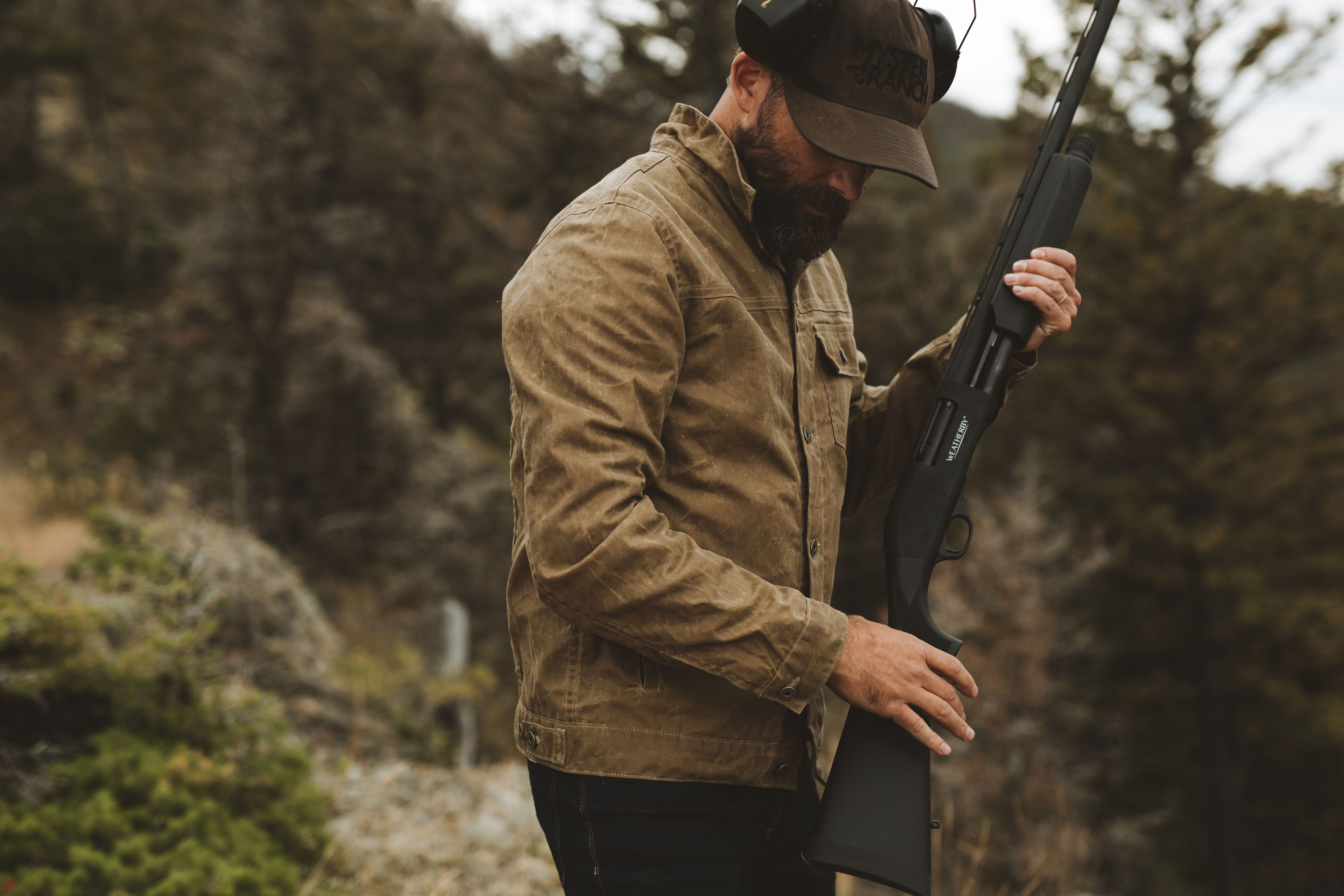 Ben Nobel hunting