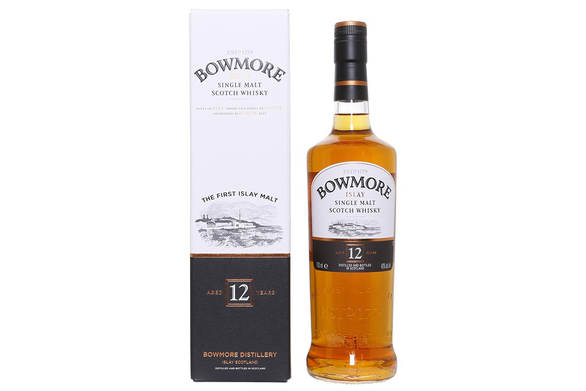 Bowmore 12 Year Single Malt Scotch Whiskey
