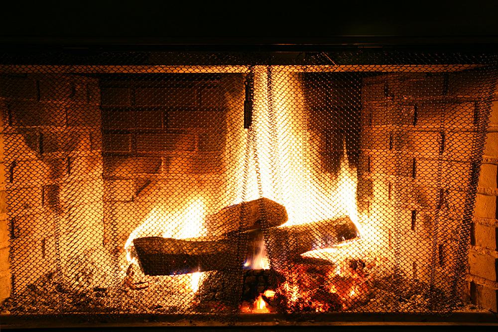 Black Mountain Wine House Fireplace